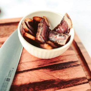 Sliced beef biltong