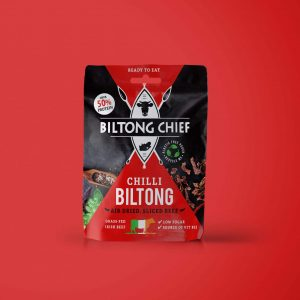 Chilli biltong packet